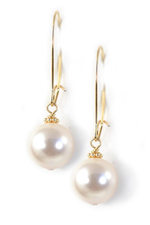 Clara Beau Pearl Earrings