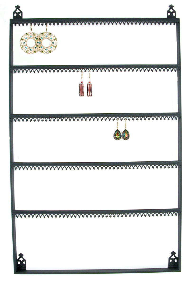 Stand 81 Wall Mount Crown Molding Earring Display