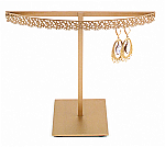 Stand#4 - One tier earring display stand, Flower molding.