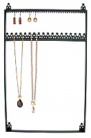 Stand#80 - Wall mount necklace and earring display.